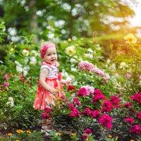 Цветок жЛучик счастьяизни :: Марина Демченко