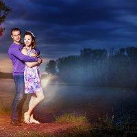 На закате :: Дмитрий и Юлия Морозовы