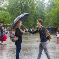 Нам и дождик не помеха! :: Дима Пискунов