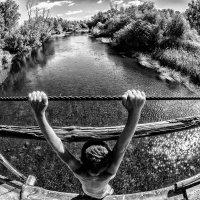 Bridge over river :: Dmitry Ozersky