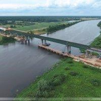 Новый мост через Волхов. М-11 СПАД :: Павел Москалёв