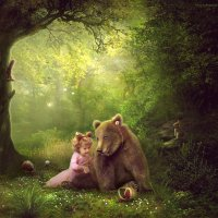 Мой друг медвежонок :: Irina Safronova