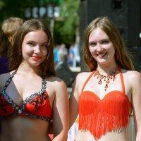 Красотки из танцевальной группы. :: cfysx