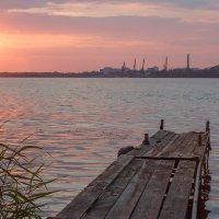 Закат над Днепром :: Artem Zelenyuk
