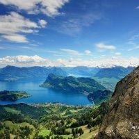 Vierwaldstättersee или озеро четырех кантонов :: Elena Wymann