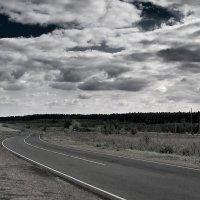 Дорога с облаками. :: Андрий Майковский