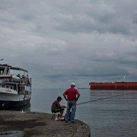 рыбаки :: Наталья Краснюк