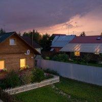 Дачная картинка на закате :: Дмитрий Крыжановский