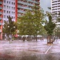 Долгожданный летний ливень :: Татьяна Каримова