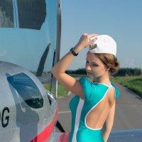 """Юля. Фотодень """"Aviation"""" :: Павел Шрайбикус"""