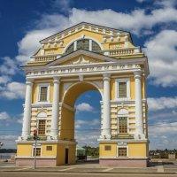 Московские Триумфальные ворота. г. Иркутск :: Сергей Сол
