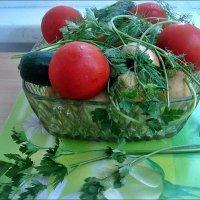 Овощное ассорти :: Нина Корешкова