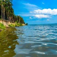 вода,обрывы,лес и прекрасный свежий воздух :: Света Кондрашова