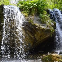 Водопад Чечкыш в Чемале :: Tatiana Lesnykh Лесных