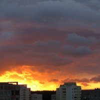 Июльские закаты (без фотошопа) :: Оксана Кошелева