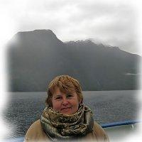 Портрет на фоне Норвегии... :: Tatiana Markova