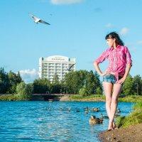 Девушка в парке :: Антонина Говор