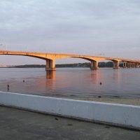 Мост подсвеченный закатом :: esadesign Егерев