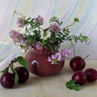 Этюд с полевыми цветами :: Татьяна Смоляниченко