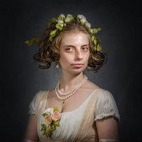 Дама с цветами в волосах :: Олег Дроздов