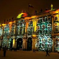 Новогодний Зимний дворец. :: Александр Яковлев