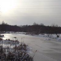 Зимняя река :: Виктор Тарасюк