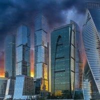 Москва-сити :: Алексей Строганов