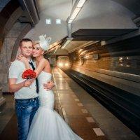 В метро :: Наталья Мелешкова