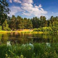 Отдых на лесном озере :: Александр Тулупов