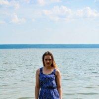 Ксюша в море :: Света Кондрашова