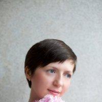 пионовый портрет :: Катерина Кучер