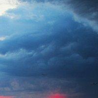 рассвет в непогоду :: Марина