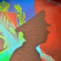на страже флага Кузбасса :: Евгений Фролов