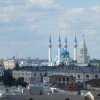 Смотровая площадка Колокольни Богоявленской церкви :: Наиля