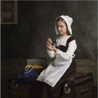 Девушка с жемчужной сережкой, или дочь Вермеера :: Виктория Иванова