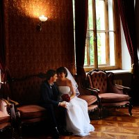 Свадебная фотосессия во дворце :: Oksanka Kraft