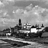 Вид на Троице-Серьгееву лавру  1975г :: Борис Александрович Яковлев