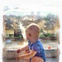 А из нашего окна... :: Александр Акилов