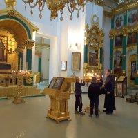 Приобщение  к православию. :: Алла ************