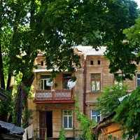 одесский дворик :: Александр Корчемный