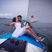 Поцелуи везде))) Радуют свадьбы когда молодые не могут оторваться друг от друга :: Аннета /Анна/ Шу