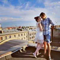 Фотосессия на крыше :: Oksanka Kraft