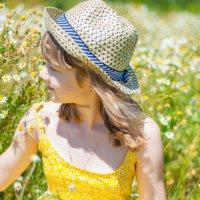 В ромашковом поле :: Светлана