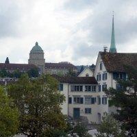 Вид на главное здание университета Цюриха :: Елена Павлова (Смолова)
