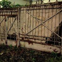 Потрёпанные ворота :: Николай Филоненко