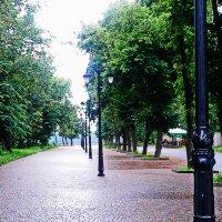 После дождя .Выход на набережную Днепра. :: Олег Рябич