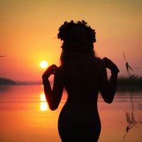 Летний закат... :: Serg Y