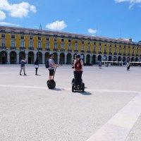 Площадь Коммерции - административный и туристический центр Лиссабона. :: Ольга Васильева
