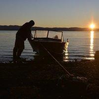 Уставший рыбак... :: Витас Бенета