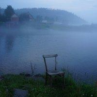 Вечерний туман :: Галина Подлопушная